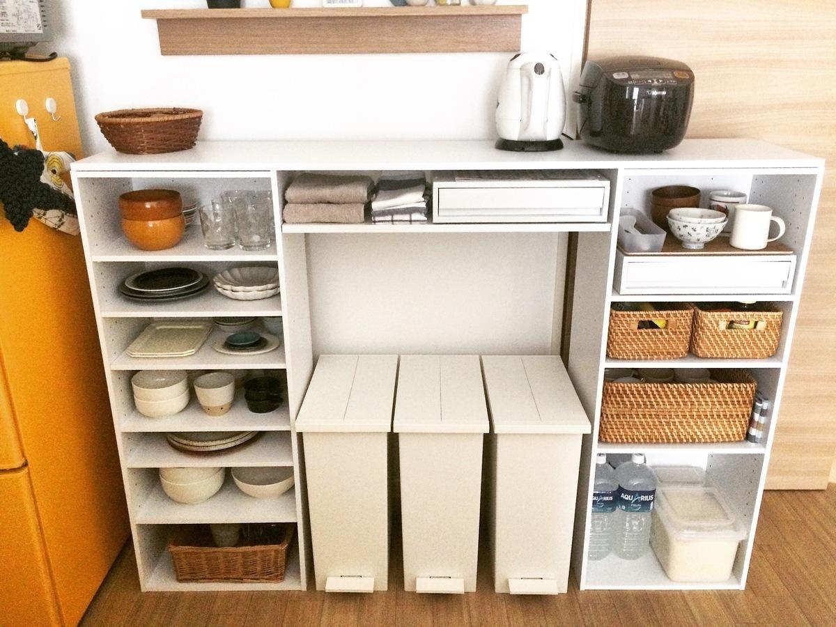 キッチン 収納 ニトリ
