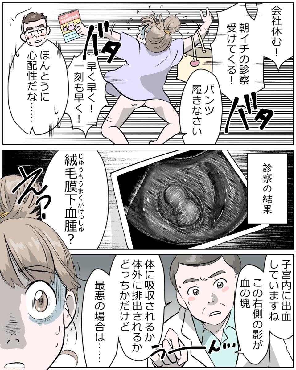 妊娠初期 血の塊 妊娠継続